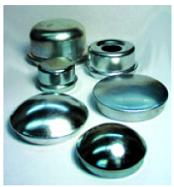 "Grease Cap Drive In For 2K & 3K Axles, 1.986"" O.D."