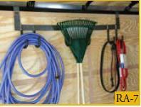 Rack Multi-Tool 6-Hook For Enclosed Trailer